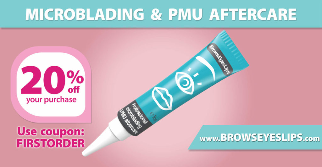 microblading aftercare product